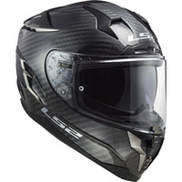 Casco Ls2 Ff327 Challenger Carbon Solid Nero