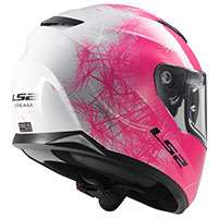 Ls2 Stream Evo Ff320 Wind Bianco Rosa Fluo