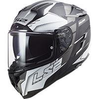 Ls2 Ff327 Challenger Allert Helmet Titanium Silver