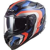 Ls2 Ff327 Challenger Galactic Helmet Blue Orange