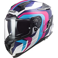 Ls2 Ff327 Challenger Galactic Helmet Blue Pink
