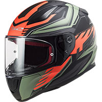 Ls2 Ff353 Rapid Gale Helmet Green Red