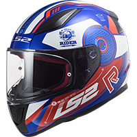 Ls2 Ff353 Rapid Stratus Helmet Blue Red White