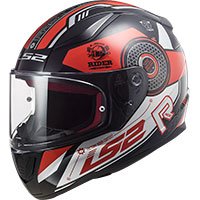 Ls2 Ff353 Rapid Stratus Helmet Black Red Silver