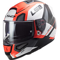 Ls2 Ff397 Vector Evo Automat Helmet White Orange