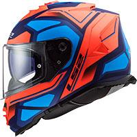 Ls2 Storm Ff800 Faster Orange Fluo Blue