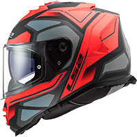 Ls2 Storm Ff800 Faster Matt Red Titanium