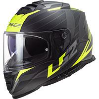Ls2 Storm Ff800 Nerve Matt Black Hv Yellow