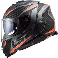 Ls2 Storm Ff800 Racer Matt Titanium Fluo Orange