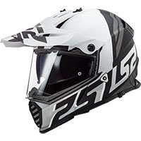 Ls2 Pioneer Evo Mx436 Evolve Matt White Black