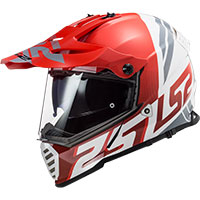Ls2 Pioneer Evo Mx436 Evolve Red White