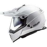 LS2 Pioneer Evo MX436 Solid blanco