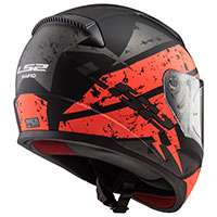 Ls2 Ff353 Rapid Deadbold Black Matt Orange