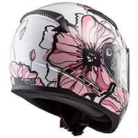 Ls2 Ff353 Rapid Poppies Bianco Rosa