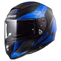 Ls2 Ff397 Vector Hpfc Evo Sign Black Blue Matt