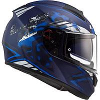 Ls2 Ff397 Vector Hpfc Evo Stencil Blu Opaco