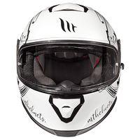 Mt Helmets Thunder 3 Sv Vlinder A1 White Black