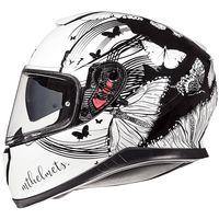 Mt Helmets Thunder 3 Sv Vlinder A1 Bianco Nero