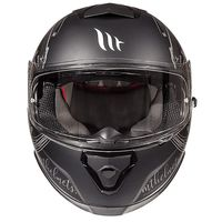 Mt Helmets Thunder 3 Sv Vlinder B2 Grey Black