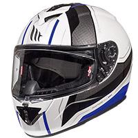 Mt Helmets Rapide Duel D5 Bianco Blu