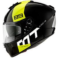 Casco Mt Helmets Blade 2 Sv 89 B3 Giallo Fluo