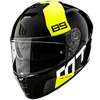 Mt Helmets Blade 2 Sv 89 B2 Casco amarillo