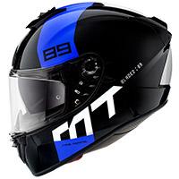 Mt Helmets Blade 2 Sv 89 B7 Helmet Blue