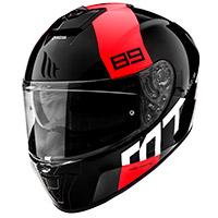 Casco Mt Helmets Blade 2 Sv 89 B5 Rosso