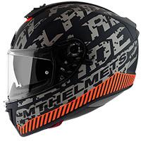 Casco Mt Helmets Blade 2 Sv Check B2 gris opaco