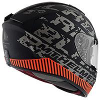 Casco Mt Helmets Blade 2 Sv Check B2 Grigio Opaco - 3