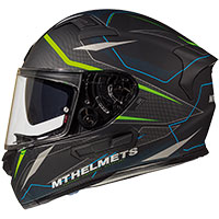 Mt Helmets Kre Sv Intrepid C1 Nero Verde