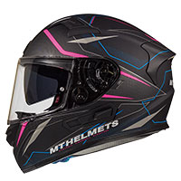 Mt Helmets Kre Sv Intrepid C2 Nero Rosa