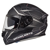 Mt Helmets Kre Sv Intrepid C3 Nero Opaco