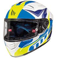 Mt Helmets Kre Lookout G6 Bianco Blu