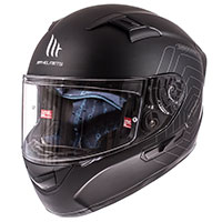 Mt Helmets Kre Sv Solid Nero Opaco