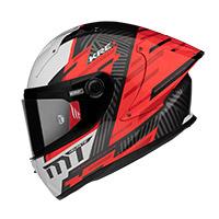 Mt Helmets Kre Plus Carbon Brush A5 Rosso