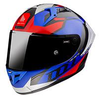 Mt Helmets Kre Plus Carbon Projectile D7 Blu