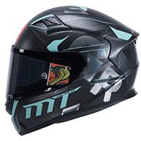 Mt Helmets Kre Snake Carbon Gabri A8 Nero Opaco