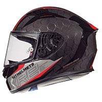 Mt Helmets Kre Snake Carbon 2.0 A5 Rosso