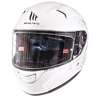Mt Helmets Kre Sv Solid Bianco