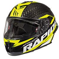 Mt Helmets Rapide Pro Carbon C3 Nero Giallo