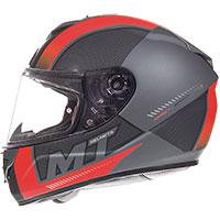 Mt Helmets Rapide Overtake B1 Rosso Opaco