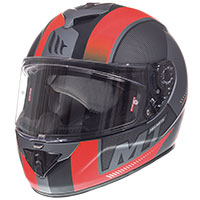 Mt Helmets Rapide Overtake B1 Rosso Opaco