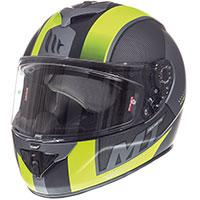 Mt Helmets Rapide Overtake B3 Giallo Fluo Opaco