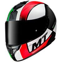 Mt Helmets Rapide Overtake D2 Rosso Verde