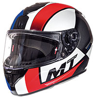 Mt Helmets Rapide Overtake D3 Rosso Blu