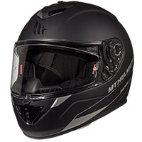 Mt Helmets Rapide Solid A1 Nero Opaco