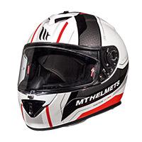Mt Helmets Rapide Duel D2 Bianco Arancio