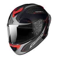 Casco Mt Helmets Rapide Pro Master B5 Rosso Fluo