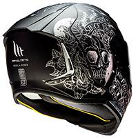 Casco Mt Helmets Revenge 2 Skull&roses A1 - 3